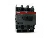 ABB Рубильник ОТ100F3 3х-полюсный на Din-рейку или монтажную плату