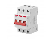 Выключатель нагрузки ABB 3P, 63A, BMD51363