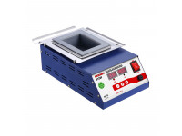 Паяльная ванна REXANT, модель R128F, 500 Вт, 100х70х45 мм, 0-600 °C, бессвинцовая, цифровая