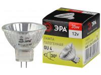 GU4-MR11-35W-12V-30CL ЭРА (галоген, софит, 35Вт, нейтр, GU4) (10/200/14400)