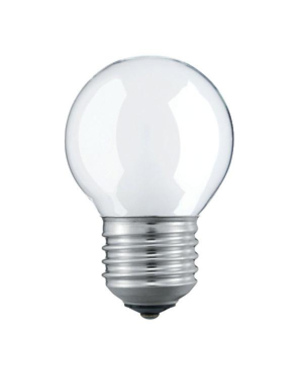 033215 Philips P45 60W E27 230V шарик FR (10/100/6000)