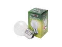 Favor ДШ (P45) 40W E27 230V шарик, матовый (100/4200)