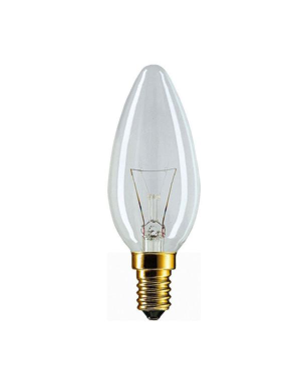 011633 Philips B35 40W E14 230V свеча CL (10/100/7200), 926000006814