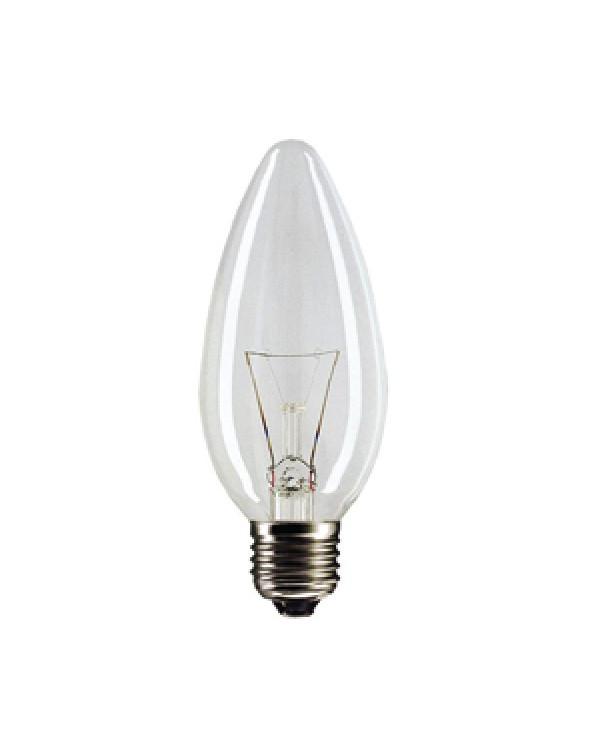 020144 PILA B35 40W 230V E27 свеча CL (10/100/7200)