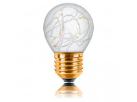 Ретро лампа G45 STARRY E27 1WW 150LM Прозрачная