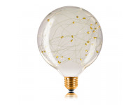 Ретро лампа G125 STARRY E27 2W 100LM Прозрачная