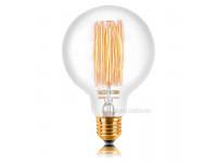 Ретро лампа G95 F2 E27 60W 300LM Прозрачная