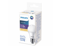 639693 Philips EcoHome LED Bulb 10W E27 3000K A60 (20/2000)