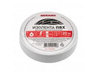 Изолента ПВХ REXANT 15 мм х 20 м, белая, упаковка 10 роликов