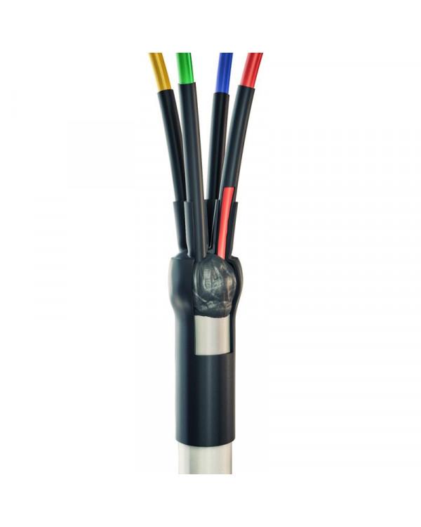 4ПКТп мини - 2.5/10 Концевая кабельная муфта для кабелей сечением 2.5-10 мм с пластмассовой изоляцией до 400 В