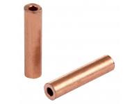 Гильза ГМ 2,5-2,6 (2,5 мм² - Ø 6 мм) (в упак. 10 шт.) REXANT