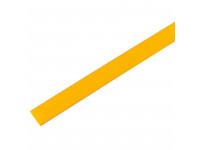 Термоусадочная трубка 10/5,0 мм, желтая, упаковка 50 шт. по 1 м PROconnect