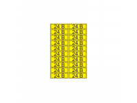 Наклейка знак электробезопасности «24 В» 15х50 мм REXANT (20 шт на листе)