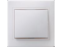 ВС10-1-0-КБ Выкл. 1кл 10А керам. КВАРТА бел. IEK