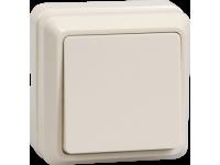 ВС20-1-0-ОКм Выключатель 1кл 10А откр.уст. ОКТАВА (кремовый)