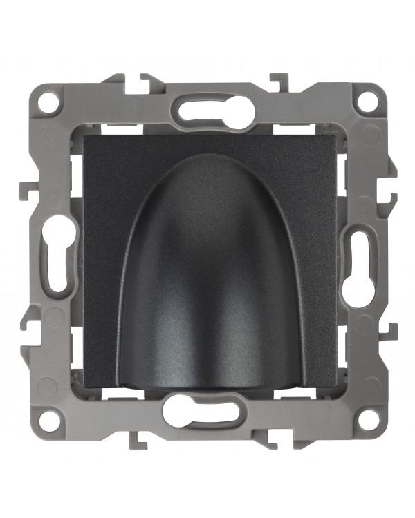 12-6003-12 ЭРА Вывод кабеля, Эра12, графит (10/100/1000), 12-6003-12