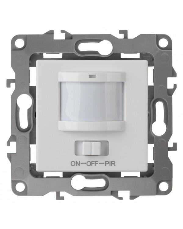 12-4104-01 ЭРА Датчик движения 3-проводной, 180-240В, 400Вт, IP20, Эра12, белый (6/60/1800)