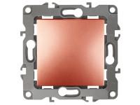 12-1101-14 ЭРА Выключатель, 10АХ-250В, IP20, Эра12, медь (10/100/2500)