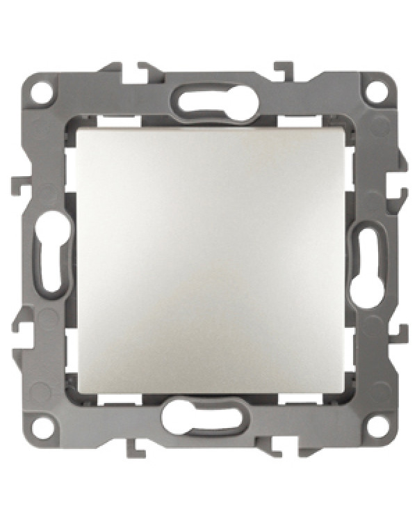 12-1108-15 ЭРА Переключатель промежуточный, 10АХ-250В, IP20, Эра12, перламутр (10/100/2500), 12-1108-15
