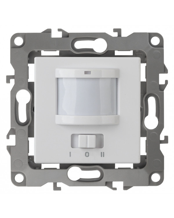12-4103-01 ЭРА Датчик движения 2-проводной, 180-240В, 200Вт, IP20, Эра12, белый (6/60/1800)