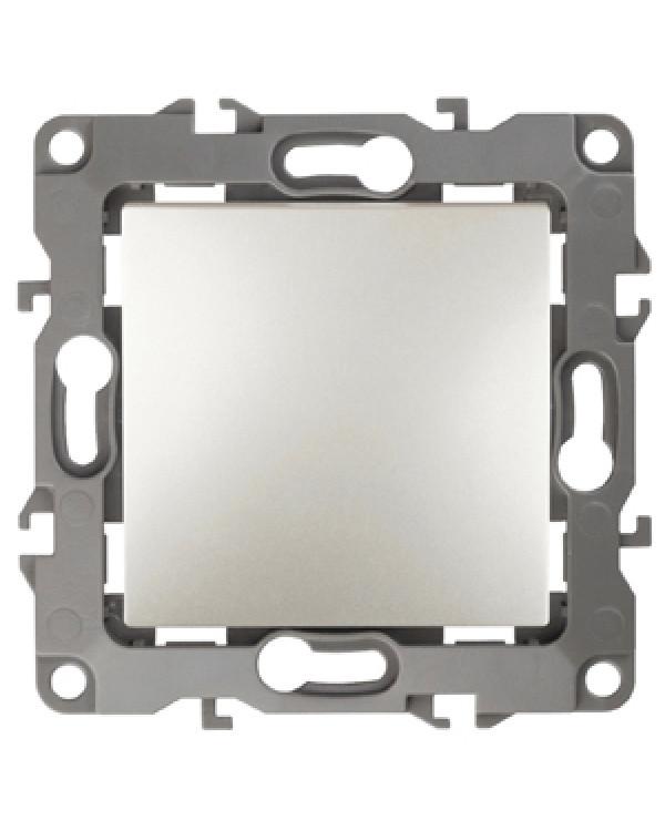 12-1001-15 ЭРА Выключатель, 10АХ-250В, IP20, без м.лапок, Эра12, перламутр (10/100/2500)