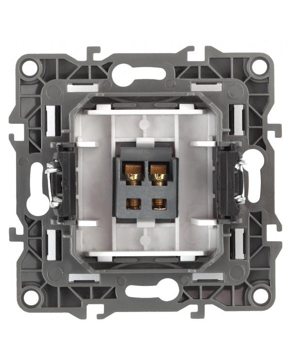 12-3111-15 ЭРА Розетка аудио, IP20, Эра12, перламутр (10/100/3200)