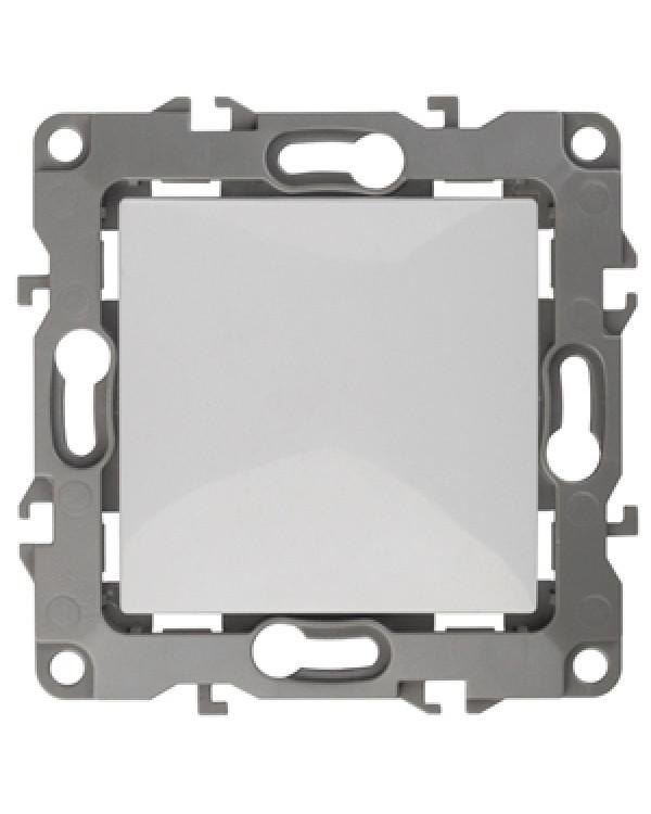 12-1001-01 ЭРА Выключатель, 10АХ-250В, IP20, без м.лапок, Эра12, белый (10/100/3000)