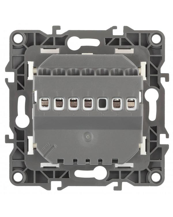 12-4111-15 ЭРА Терморегулятор универс. 230В-Imax16А, IP20, Эра12, перламутр (6/60/1200)