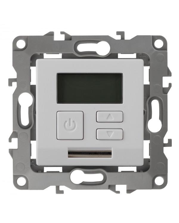 12-4111-01 ЭРА Терморегулятор универс. 230В-Imax16А, IP20, Эра12, белый (6/60/1200)