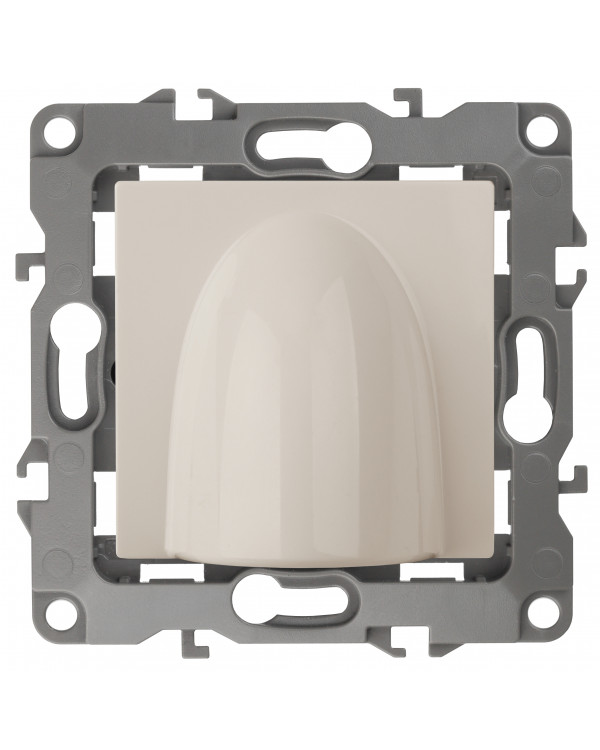 12-6003-02 ЭРА Вывод кабеля, Эра12, слоновая кость (10/100/1000)