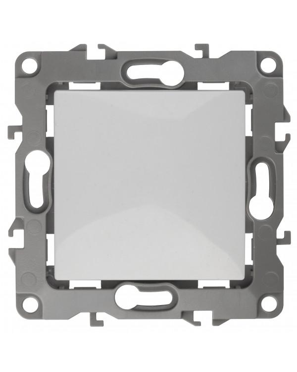12А-1001-01 ЭРА Выключатель, 10АХ-250В, Эра12, Al+Cu, белый (10/100/3200)
