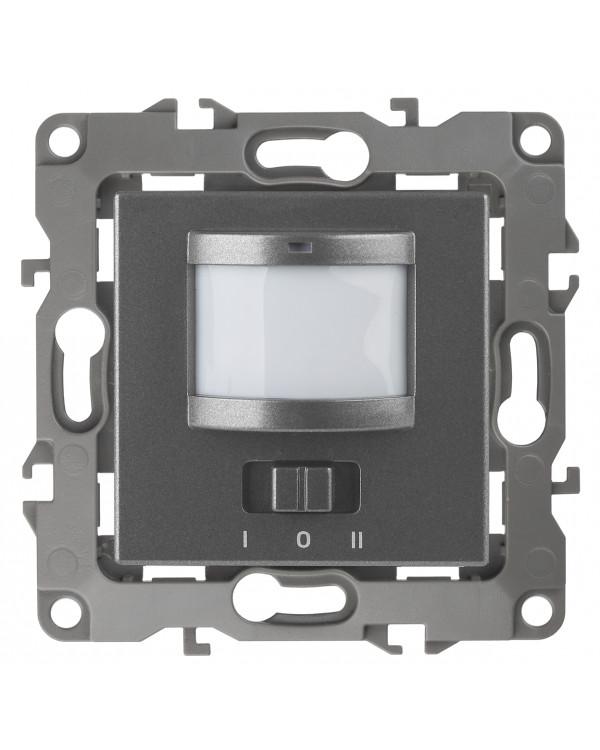 12-4103-12 ЭРА Датчик движения 2-проводной, 180-240В, 200Вт, IP20, Эра12, графит (6/60/1800)