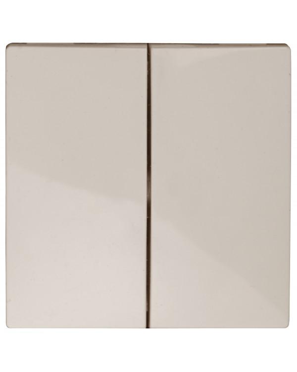 12-6203-02 ЭРА Клавиши для 12-1109, 12-1110, 14-1109, 14-1110, слоновая кость (20/200/9800)