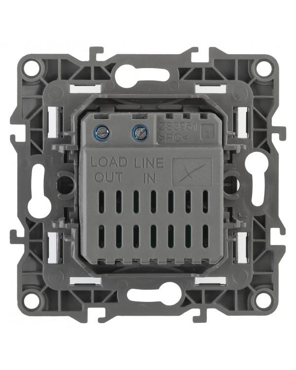 12-4101-13 ЭРА Светорегулятор поворотно-нажимной, 400ВА 230В, IP20, Эра12, бронза (6/60/1920)