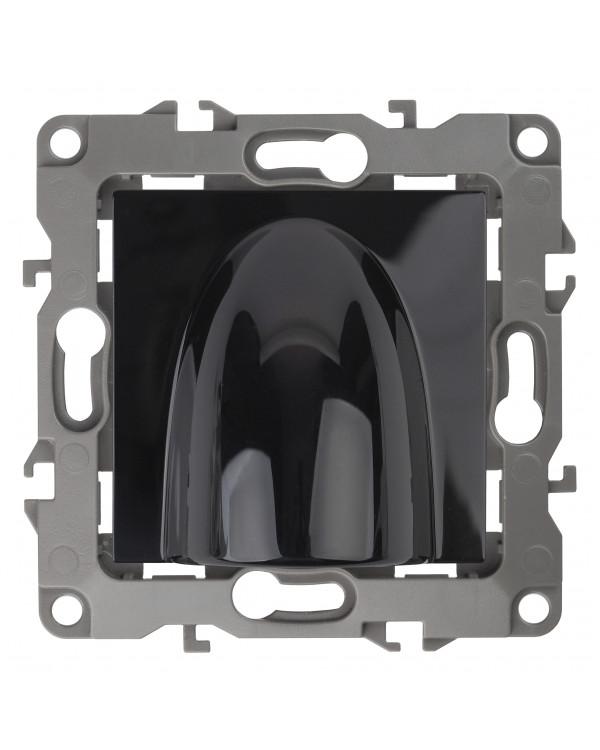 12-6003-06 ЭРА Вывод кабеля, Эра12, чёрный (10/100/1200), 12-6003-06