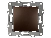 12-1101-13 ЭРА Выключатель, 10АХ-250В, IP20, Эра12, бронза (10/100/3200)