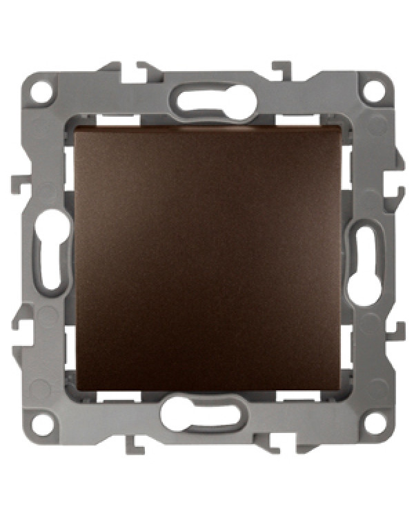12-1103-13 ЭРА Переключатель, 10АХ-250В, IP20, Эра12, бронза (10/100/2500)