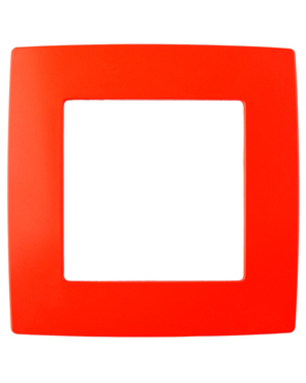 12-5001-23 ЭРА Рамка на 1 пост, Эра12, красный (20/200/5000), 12-5001-23