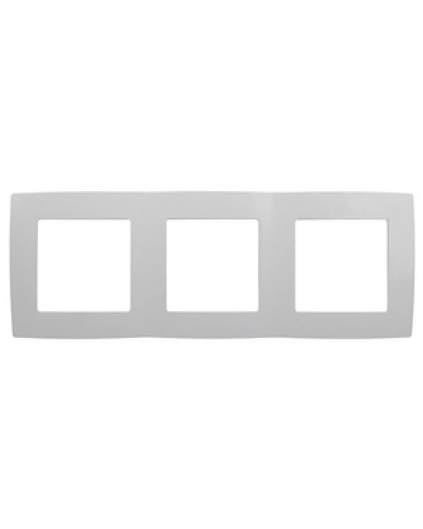 12-5003-01 ЭРА Рамка на 3 поста, Эра12, белый (15/150/3000)