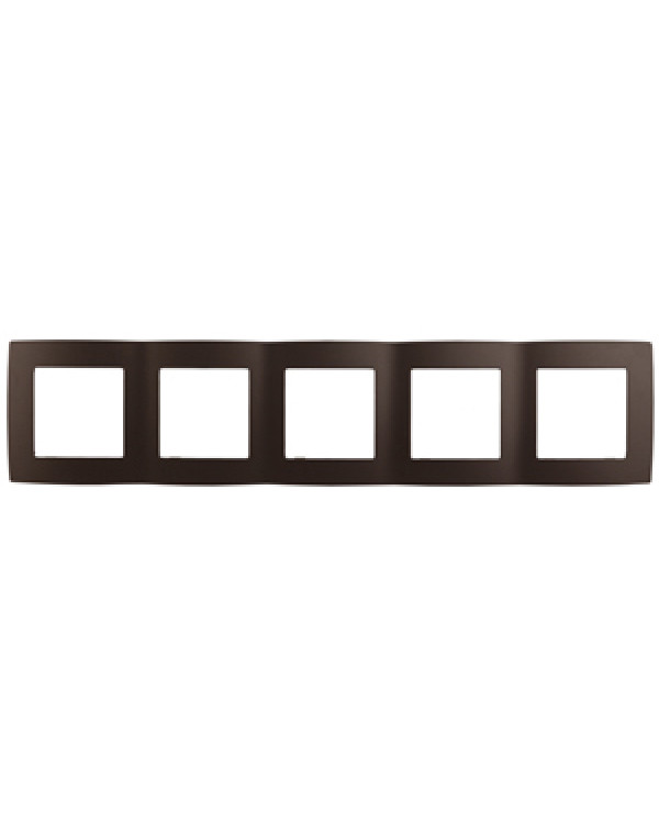 12-5005-13 ЭРА Рамка на 5 постов, Эра12, бронза (10/100/1600), 12-5005-13