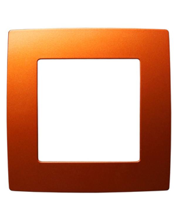 12-5001-24 ЭРА Рамка на 1 пост, Эра12, охра (20/200/5000)