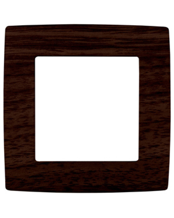 12-5001-10 ЭРА Рамка на 1 пост, Эра12, венге (20/200/6400), 12-5001-10