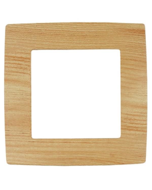 12-5001-11 ЭРА Рамка на 1 пост, Эра12, сосна (20/200/5000), 12-5001-11