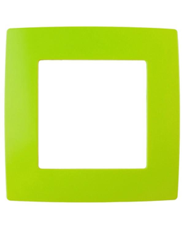 12-5001-26 ЭРА Рамка на 1 пост, Эра12, лайм (20/200/6400)