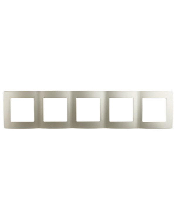 12-5005-15 ЭРА Рамка на 5 постов, Эра12, перламутр (10/100/1600)