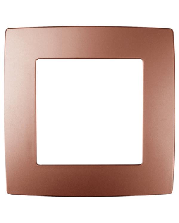 12-5001-14 ЭРА Рамка на 1 пост, Эра12, медь (20/200/5000), 12-5001-14
