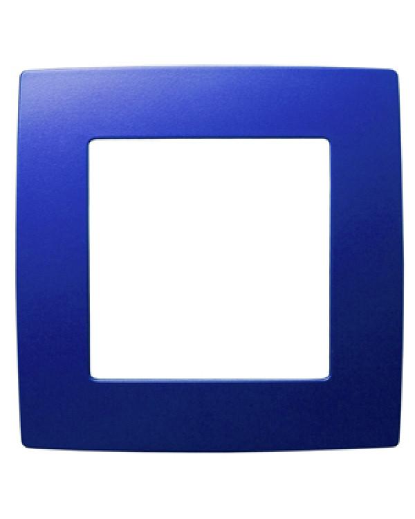 12-5001-29 ЭРА Рамка на 1 пост, Эра12, ультрамарин (20/200/6400), 12-5001-29
