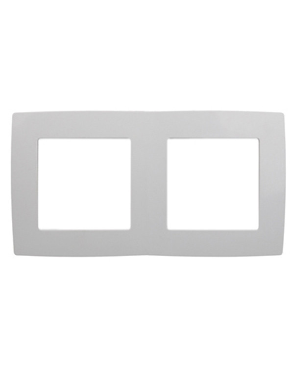 12-5002-01 ЭРА Рамка на 2 поста, Эра12, белый (10/100/3600), 12-5002-01