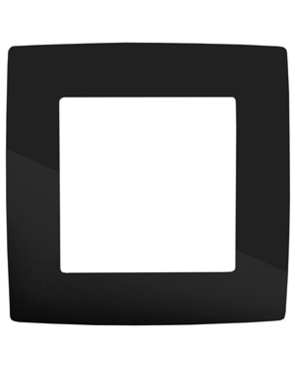12-5001-06 ЭРА Рамка на 1 пост, Эра12, чёрный (20/200/6000)