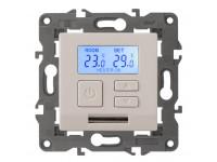 14-4111-02 ЭРА Терморегулятор универс. 230В-Imax16А, IP20, Эра Elegance, сл.кость (6/60/1080)